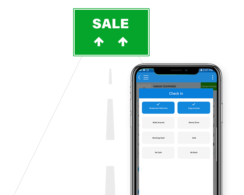 CRM 4 Road to Sale